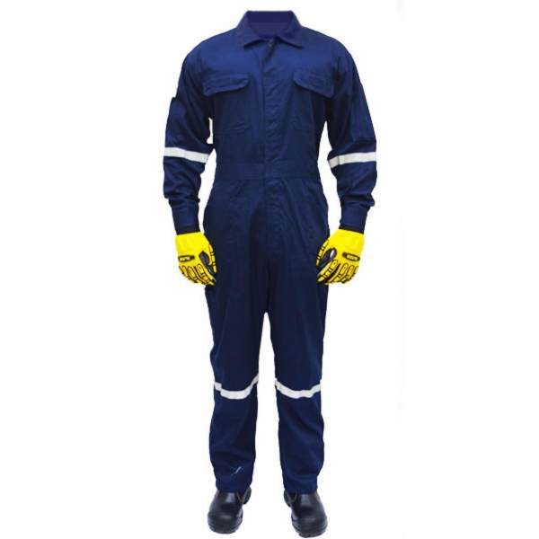 safety coverall blue
