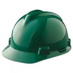 MSA Vgard Hard Hat Green