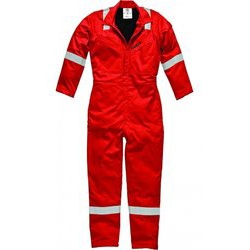 Safety Coverall - Red