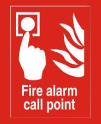 Fire Alarm Call Point 200X200mm