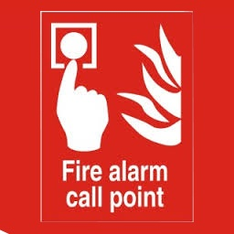 Fire Alarm Call Point 200X200mm 1