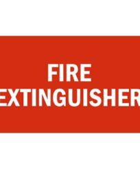 Fire Extinguisher Sign-200x100mm