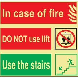 Fire Safety Signage 400X300mm