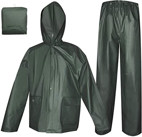 Unisex Rain Coat 2pcs (Jacket And Trouser)