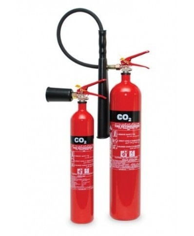 2KG CO2 Naffco Brand Fire Extinguishers
