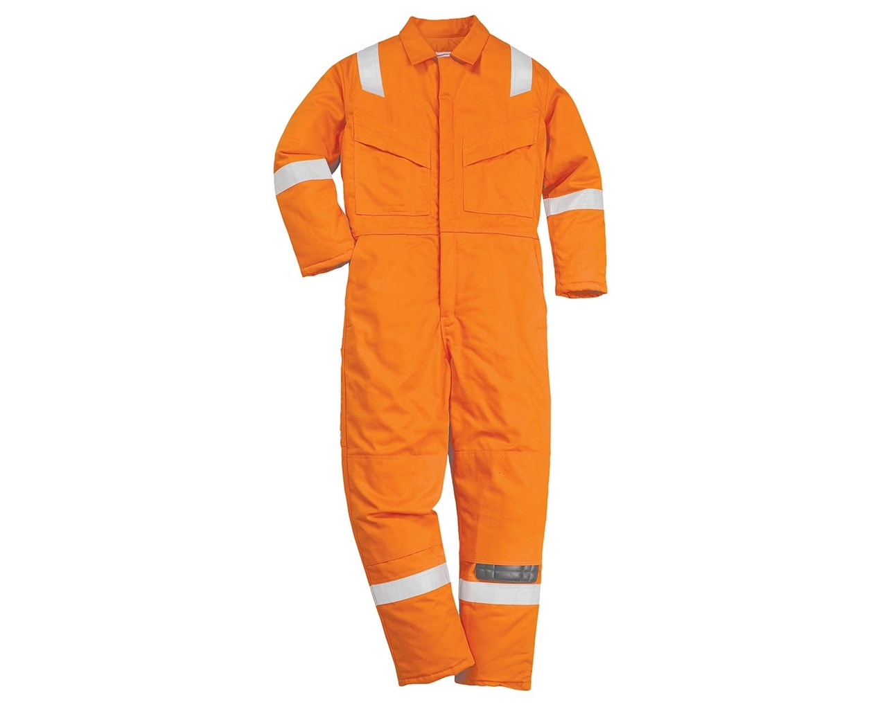 PORTWEST FR21 FIRE RETARDENT COVERALL (NAVY BLUE, RED AND ORANGE COLOUR)