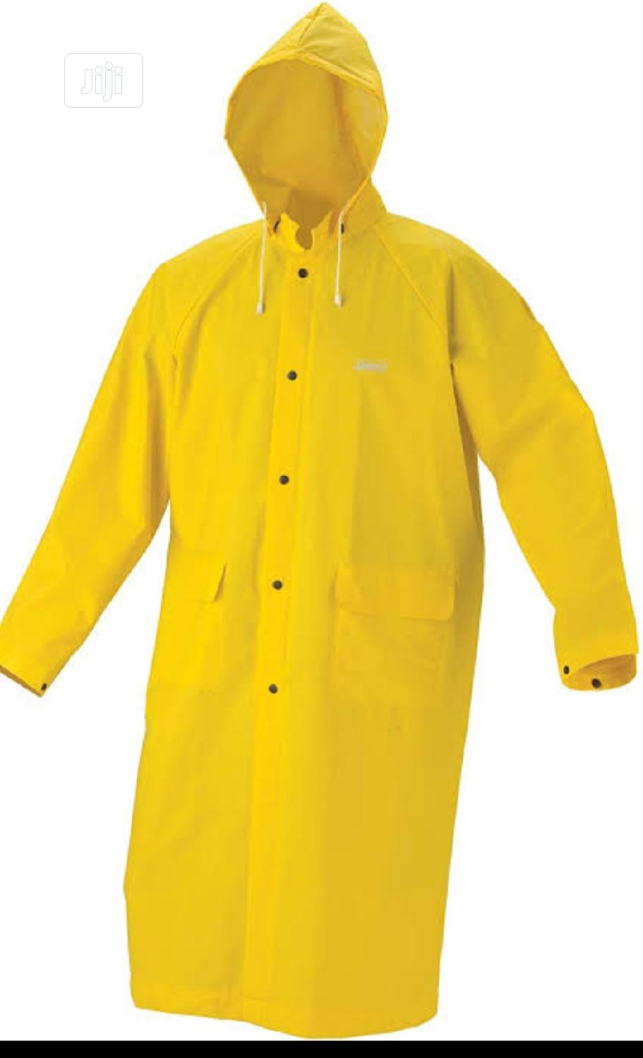 GOWN PVC RAINCOAT WITHOUT REFLECTIVE