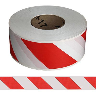 RED AND WHITE CAUTION TAPE (500M